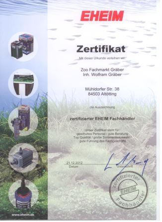 eheim-zertifikat